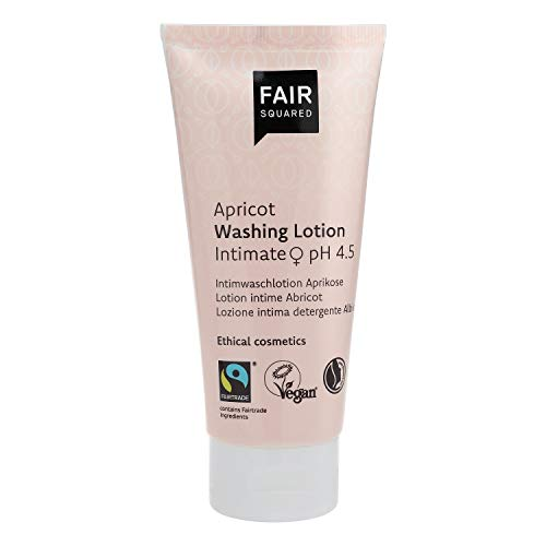 Fair Squared Intimwaschlotion Aprikose pH 4,5 von Fair Squared