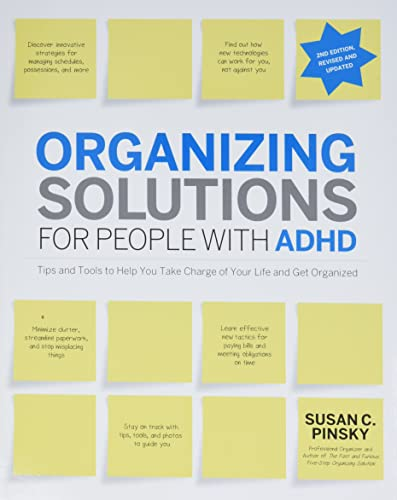 Organizing Solutions for People with ADHD, 2nd Edition-Revised and Updated von Fair Winds Press