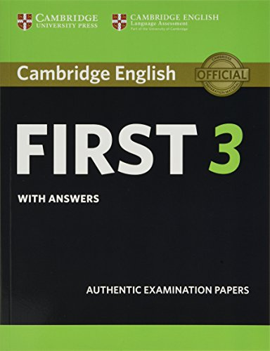 Cambridge English First 3 Student's Book with Answers (Fce Practice Tests) von Cambridge University Press