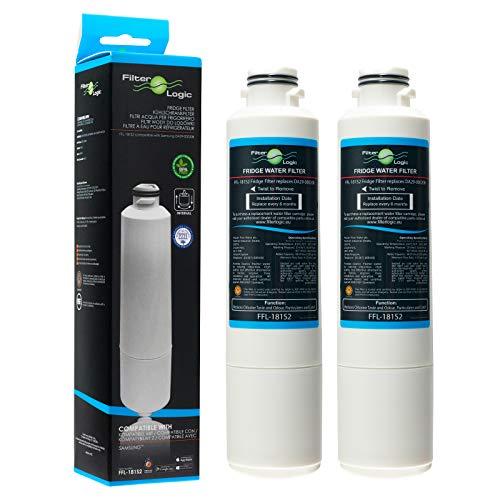FilterLogic FFL-105CH interner Wasserfilter ersetzt Microfilter MFCMG14211FR 571671-640897 und Comfee SBSIB 502 NFA+ 667000 MFCMG14211F für Hanseatic Kühlschrank Nr