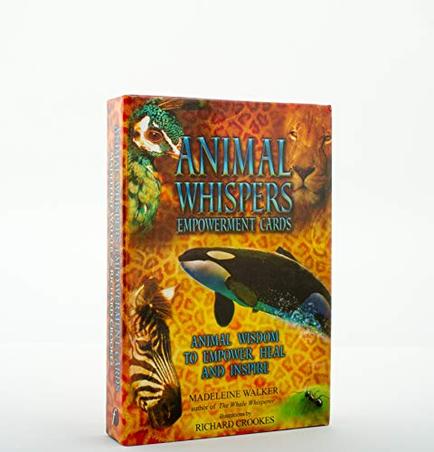 Animal Whispers Empowerment Cards: Animal Wisdom to Empower and Inspire von Findhorn Press