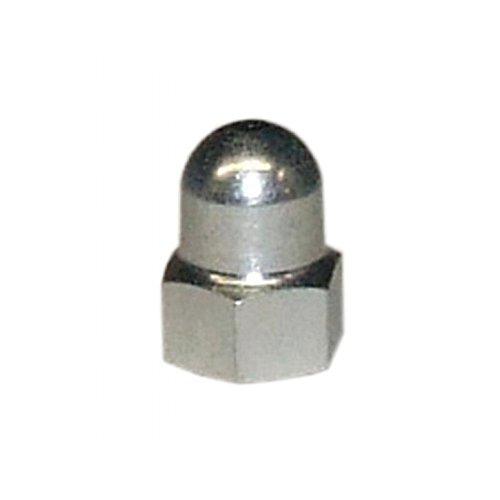 Fix-Nippel 2 x Mutter f/ür Schaltung Stahl verzinkt SW15 x 8,0 M9 x 1