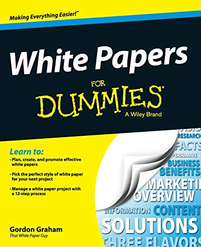 White Papers Fd (For Dummies) von JOHN WILEY & SONS INC