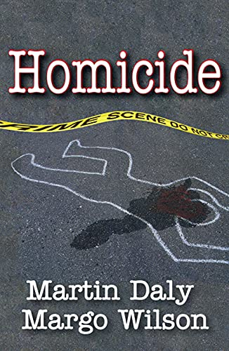 Homicide: Foundations of Human Behavior von TRANSACTION PUBL