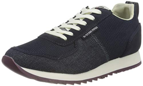 G-STAR RAW Womens Vin Runner Sneaker, dk saru Blue von G-STAR RAW