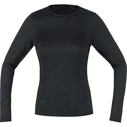 GORE Wear Atmungsaktives Damen Thermo-Unterzieh-Shirt, GORE M Women Base Layer Thermo Long Sleeve Shirt, 42, Schwarz, 100315 von GORE WEAR