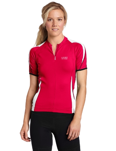 Gore Bike WEAR Damen Trikot Power 2.0, Berry red/White, 42, SPOWLT400110 von GORE WEAR