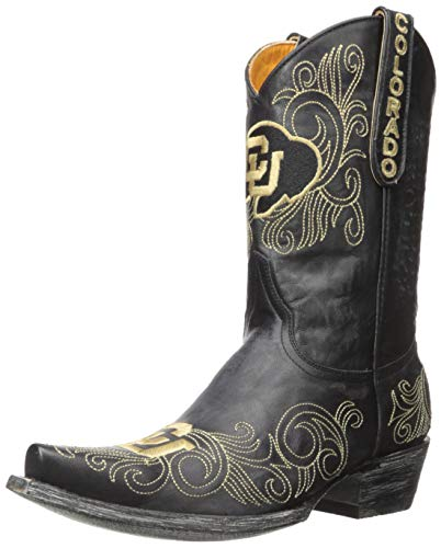 Gameday Boots NCAA Colorado Buffaloes Damen 25,4 cm, Damen, COL-L131, schwarz, 7.5 B (M) US von Gameday Boots