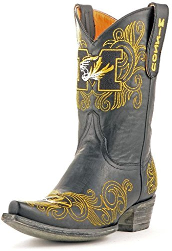 Gameday Boots NCAA Damen-Stiefel, 33 cm, Damen, FSU-L324, schwarz, 6 B (M) US von Gameday Boots