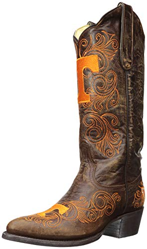 Gameday Boots NCAA Damen University Stiefel, 33 cm, Damen, ARK-L323, Messing Alternate, 11 von Gameday Boots