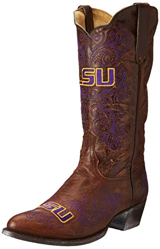 Gameday Boots NCAA Damen University Stiefel, 33 cm, Damen, USM-L080, Messing, 10.5 von Gameday Boots