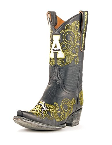 Gameday Boots NCAA Damen University Stiefel 25,4 cm, Damen, APP-L216, schwarz, 8.5 B (M) US von Gameday Boots