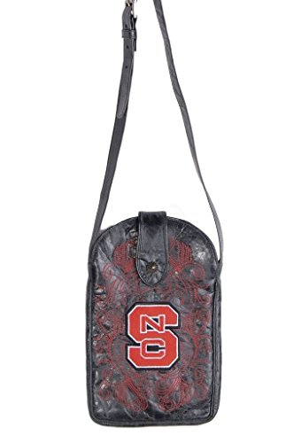 Gameday Boots NCAA North Carolina State Wolfpack Cross-Body-Damen Geldbörse, Damen, NCS-P052, Schwarz, Einheitsgröße von Gameday Boots