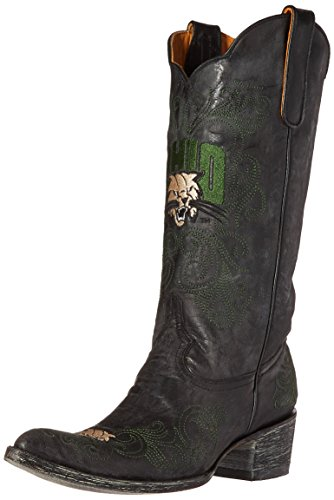 NCAA Ohio Bobcats 33 cm Gameday Damen Stiefel, Damen, schwarz, 7 B (M) US von Gameday Boots