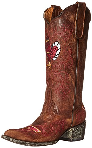 NCAA Virginia Tech Hokies 33 cm Gameday Damen Stiefel, Damen, Messing, 7.5 B (M) US von Gameday Boots