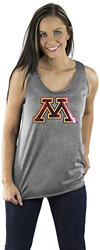 Gameday Couture NCAA Damen Minnesota Golden Gophers (Fernsehserie, Damen, Team Color Triblend Racerback Tank, grau, Small von Gameday Couture