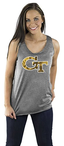 Gameday Couture NCAA Damen Racerback Tank, Damen, Team Color Triblend Racerback Tank, grau, XX-Large von Gameday Couture