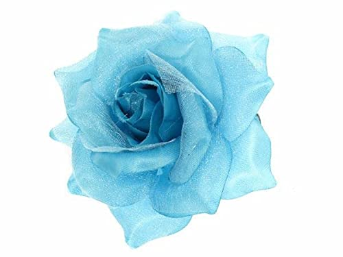 Glitz4Girlz Blue Rose Hair Clip by Glitz4Girlz von Glitz4Girlz