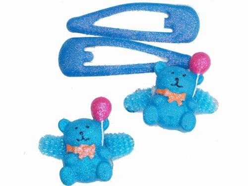 Glitz4Girlz blau Glitter Teddy Hair Set von Glitz4Girlz
