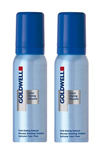 Goldwell Colorance Color Styling Mousse 6N dunkelblond 2 x 75 ml Farb-Schaum von Goldwell