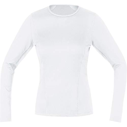 GORE WEAR Damen M Base Layer Shirt langarm, White, 36 von GORE WEAR