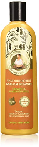 Grandma Agafia's Recipes Natural Lemongrass Conditioner Natural Shine Hair 280ml by Grandma Agafia's Recipes 5 Juices von Grandma Agafia's Recipes 5 Juices