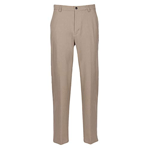 "Greg Norman Herren Classic Pro-fit Pant Hosen, Bamboo Heather, W: 36"" x L: 30"" von Greg Norman"