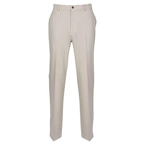 "Greg Norman Herren Classic Pro-fit Pant Hosen, Sandstone Heather, W: 34"" x L: 30"" von Greg Norman"