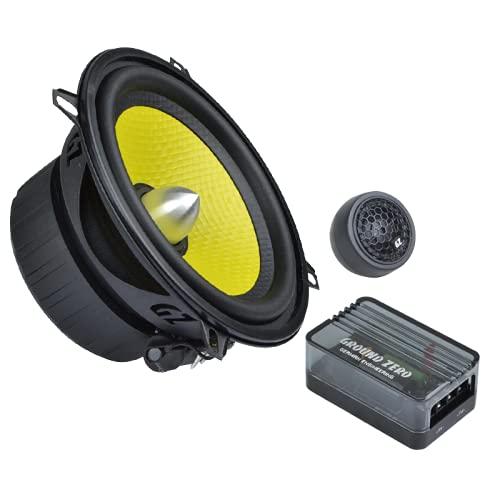 hinten Ground Zero Iridium Lautsprecher Kompo-System 300 Watt VW Caddy 2K//2KN ab 2003 Einbauort vorne T/üren