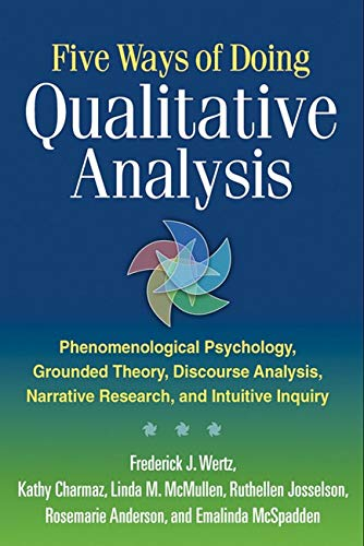 Five Ways of Doing Qualitative Analysis von Guilford Press