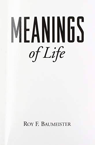 Meanings of Life von Guilford Publications