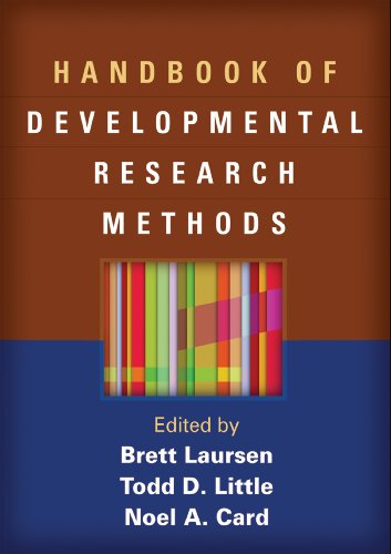 Handbook of Developmental Research Methods von Guilford Press