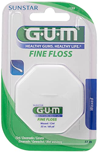 GUM Fine Floss - Model : Waxed von GUM