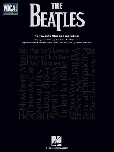 The Beatles: Note-for-Note Vocal Transcriptions: Songbook für Gesang von HAL LEONARD