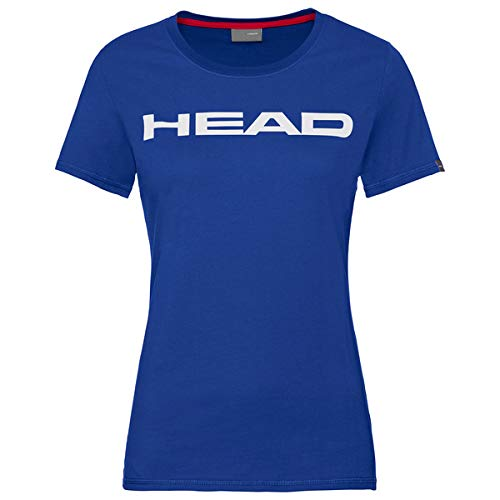 HEAD Damen Club Lucy T-Shirt W, royal weiß, XXX-Large von HEAD