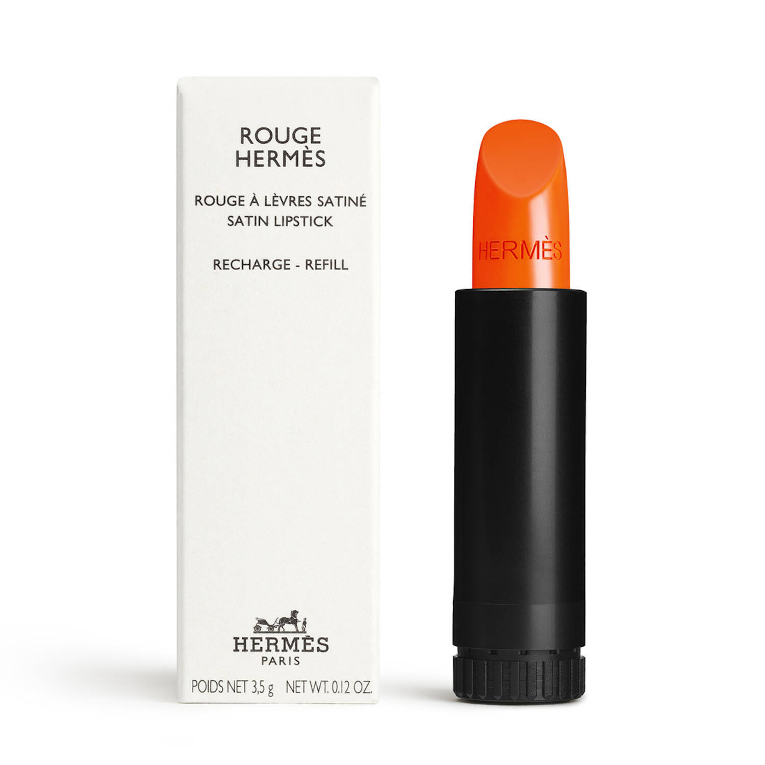 Rouge Hermès Satin, Nachfüllstift (33 Orange Boîte | 3,5 g) Make Up, Lippen, Lippenstift, MAKE-UP, LIPPEN von HERMÈS