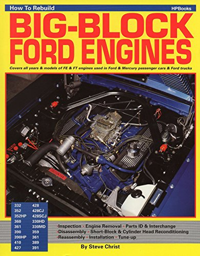 How to Rebuild Big-Block Ford Engines (Hpbooks) von HP Books