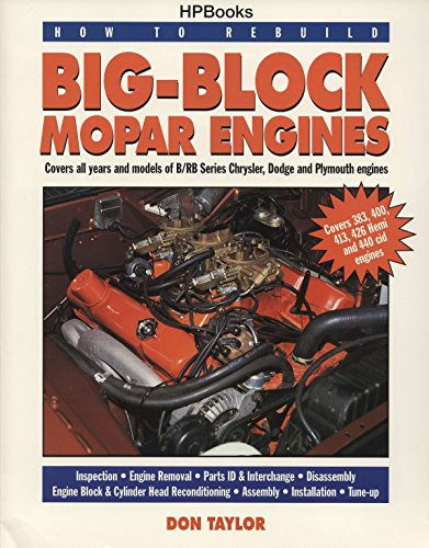 How to Rebuild Big-Block Mopar Engines von HP Books