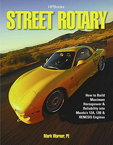 Street Rotary HP1549: How to Build Maximum Horsepower & Reliability into Mazda's 12a, 13b & Renesis Engines von HP Books