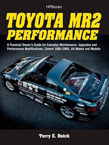 Toyota MR2 Performance HP1553: A Practical Owner's Guide for Everyday Maintenance, Upgrades and Performance Modifications. Covers 1985-2005, All Makes and Models von HP Books