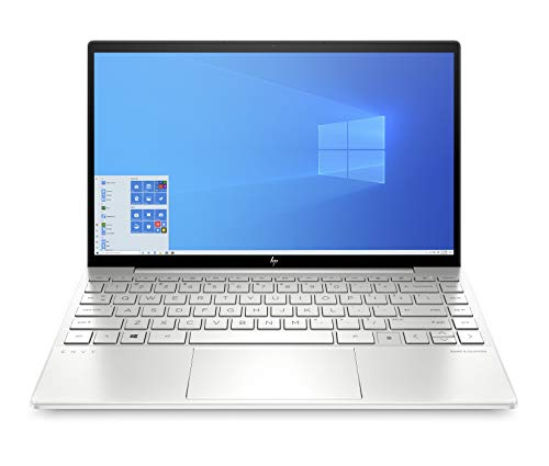 HP ENVY 13-ba0001ng (13,3 Zoll / FHD IPS) Laptop (Intel Core i7-10510U, 16GB DDR4 RAM, 512GB SSD, Nvidia GeForce MX350 2GB, Fingerprintsensor, Windows 10 Home) Silber von HP