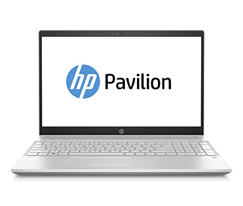 HP Pavilion 15-cs1018ng 39,6 cm (15,6 Zoll Full HD) Notebook (Intel Core i7-8565U quad, 16 GB DDR4 2DM, 1TB HDD, 256 GB SSD, Nvidia GeForce MX150 2 GB, Windows 10 Home) silber von HP