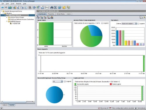 Software / ProCurve Identy Driven Manager v3 / +1000 User-Lizenz von HP