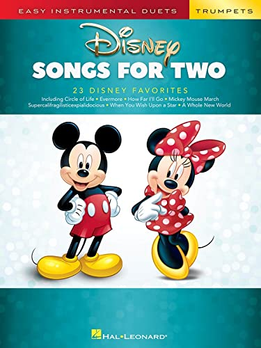 Disney Songs for Two Trumpets: Easy Instrumental Duets von HAL LEONARD