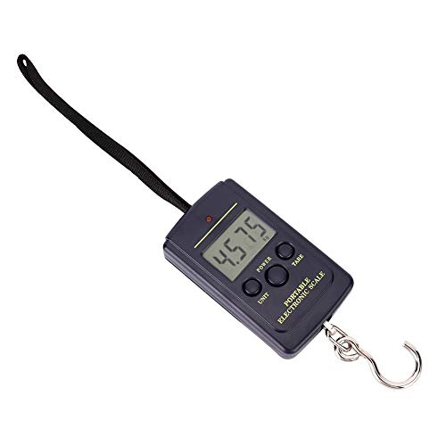 Tragbare Waage 40 kg-10 g Muti-Functional Precision Electronic Scale Tragbare Waage mit Haken von Hancend