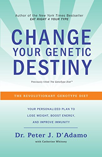 Change Your Genetic Destiny: The Revolutionary Genotype Diet von Harmony