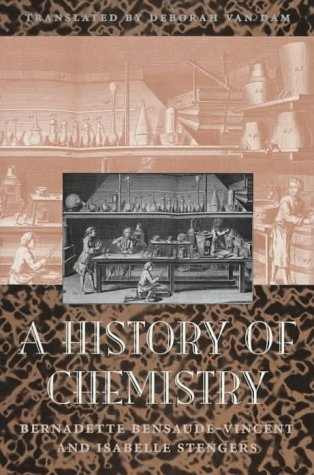 Bensaude-vincen, B: History of Chemistry (Religion and Politics) von Harvard University Press