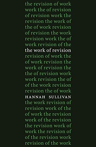 Sullivan, H: Work of Revision von Harvard University Press