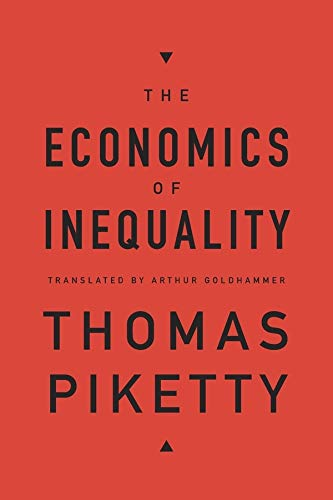 The Economics of Inequality von Harvard University Press