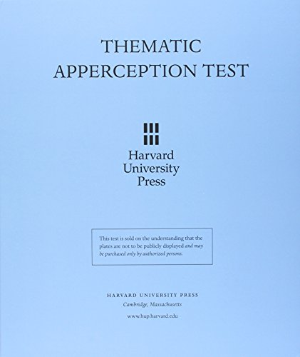 Thematic Apperception Test (20 Page Manual- 30 Pict on Cards -Blank Card in Folder) von Harvard University Press